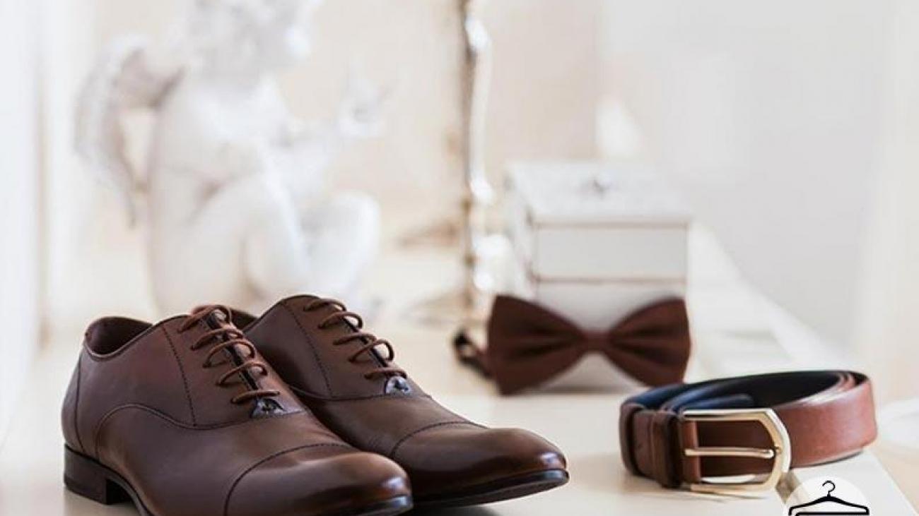 کفش و کمربند - داماد سرای ایرانیان