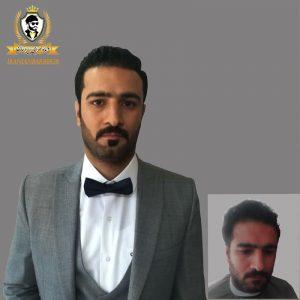دامادسرای ایرانیان - گریم داماد - گریم دامادکرج _ آرایشگاه داماد